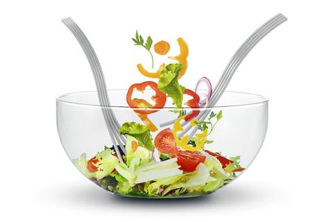 Splay Salad Servers Products Snapp Design